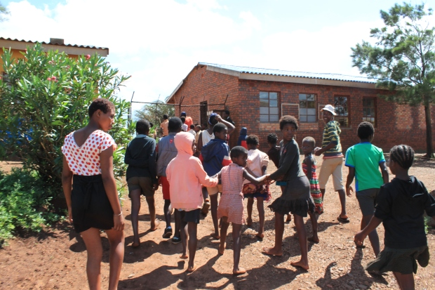 School in Zululand, South Africa