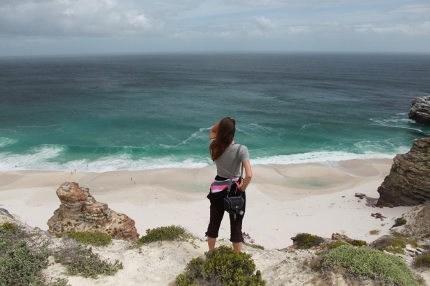 Overlooking Dias beach, Cape of Good Hope