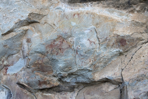 San bushmen paintings, Drakensberg